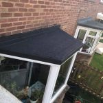 Felt Flat Roof Repair - After