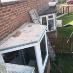 Felt Flat Roof Repair - Before