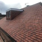 Clay pan tile roofing